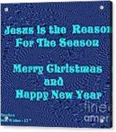 Christmas Cards And Artwork Christmas Wishes 13 Acrylic Print