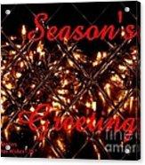 Christmas Cards And Artwork Christmas Wishes 28 Acrylic Print