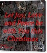 Christmas Cards And Artwork Christmas Wishes 32 Acrylic Print