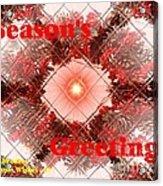 Christmas Cards And Artwork Christmas Wishes 67 Acrylic Print