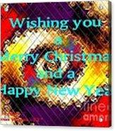 Christmas Cards And Artwork Christmas Wishes 72 Acrylic Print