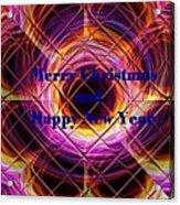Christmas Cards And Artwork Christmas Wishes 75 V Acrylic Print