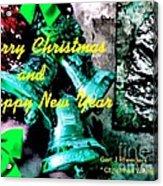Christmas Cards And Artwork Christmas Wishes 76 Acrylic Print