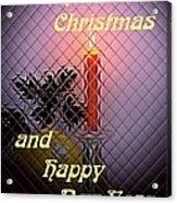 Christmas Cards And Artwork Christmas Wishes 95 Acrylic Print