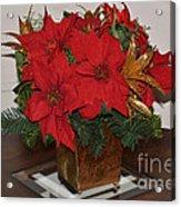 Christmas Centerpiece Acrylic Print