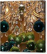Christmas Chandelier Acrylic Print