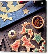 Christmas Cookies Acrylic Print