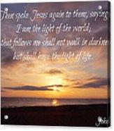 Christmas Day Sunrise Acrylic Print