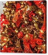 Christmas Dazzle Acrylic Print