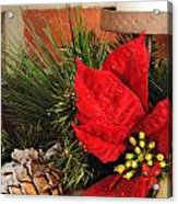 Christmas Decor Close Acrylic Print