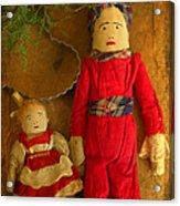 Christmas Dolls Acrylic Print