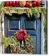 Christmas Door 8 Acrylic Print