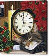 Christmas Eve Nap Acrylic Print