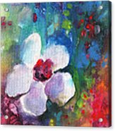 Christmas Flowers For Mom 02 Acrylic Print