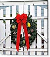Christmas Garland Acrylic Print