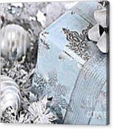 Christmas Gift Box And Decorations Acrylic Print