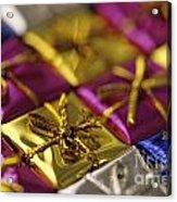 Christmas Gifts Acrylic Print