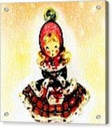 Christmas Girl Acrylic Print