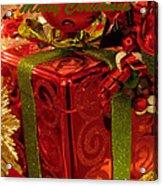Christmas Greeting Acrylic Print