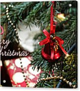 Christmas Greetings Acrylic Print