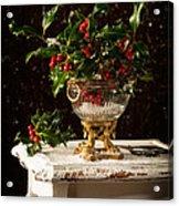 Christmas Holly Acrylic Print