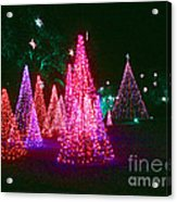 Christmas Hues Acrylic Print