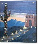 Christmas in AZ Acrylic Print