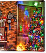 Christmas In Hdr Acrylic Print