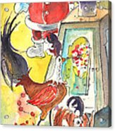 Christmas In Lanzarote 03 Acrylic Print