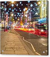 Christmas In London Acrylic Print