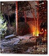 Christmas In Maine N0088 Acrylic Print