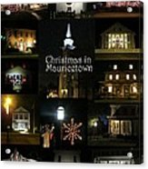 Christmas In Mauricetown  Acrylic Print