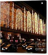 Christmas In Paris - Gallery Lights Acrylic Print