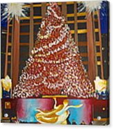 Christmas In The City Acrylic Print