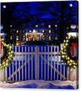Christmas In The Country Acrylic Print