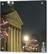 Christmas In Uptown Lexington 1 Acrylic Print