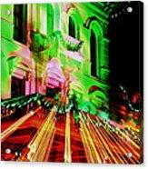 Christmas Light Show Acrylic Print