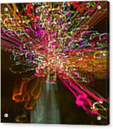 Exploding   Lights  Acrylic Print