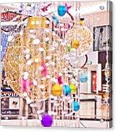 Christmas Lights V2 Acrylic Print