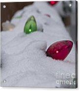 Christmas Lights1 Acrylic Print