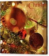 Christmas Magic Acrylic Print