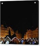 Christmas Market Acrylic Print