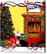 Christmas - Memories - Ribbons - Bows Acrylic Print