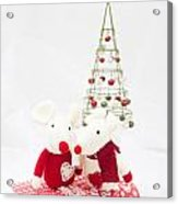 Christmas Mice Acrylic Print