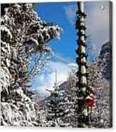 Christmas Morning At Redstone Acrylic Print