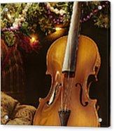 Christmas Music Acrylic Print