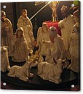 Christmas Nativity Of Baby Jesus Acrylic Print