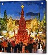 Christmas Night Acrylic Print