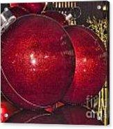 Christmas On 5th Avenue Manhattan 4 Acrylic Print