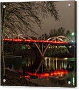 Christmas On Caveman Bridge Acrylic Print
